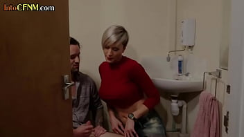 Busty British Cfnm Milf Tugging Submissive Bf In Couple