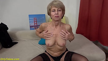 Ugly 75 Years Old Mom First Sex Video