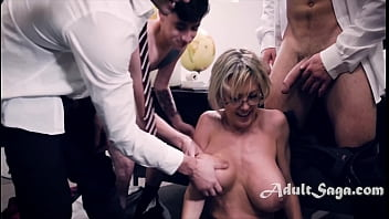 MILF Teacher Rounded Up And Fucked By Angry Students - Dee Williams