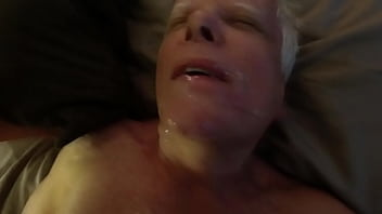 """Hot Facial for Grandpa Who Loves Hot Cum on His Face <span class=""""duration"""">51 sec</span>"""