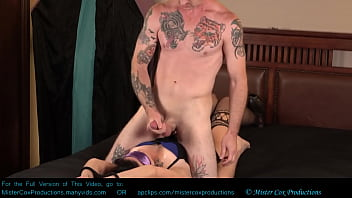 Blindfolded Handcuffed and Fucked by Nicholas Cox Huge Cumshot Facial - Mrxmrscox