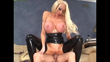Latex Mammaries #1 - Massive-titted sluts get fucked while wearing their most latex costumes and fishnets