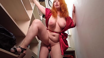 """Streaming Video """"Mom, I helped you, now I want to fuck you"""". Busty Redhead Stepmom fucks with her stepson again. - XLXX.video"""
