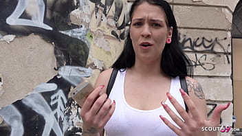 GERMAN SCOUT - MULTIPLE ORGASM STREET CASTING SEX FOR BIG FLOPPY TITS TEEN SARAH