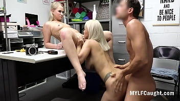 Mom And Daughter Caught On Hidden Camera Stealing And Blackmailed- Harley King, Lauren Pixie