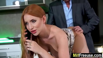 Stepmom and stepdad fuck son and daughter 8 min