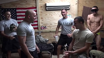 TROOP CANDY - Preparing Our Soldiers For Anything And Everything Requires Vigorous Gay Sex Simulations 46 min
