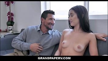 Petite Granddaughter Lets Grandfather Fuck Her For Air Conditioning - Jazmin Luv, Tommy Gunn