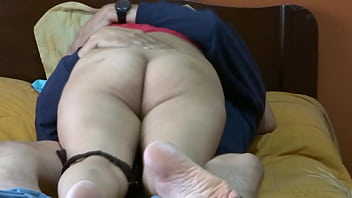Hidden cameras my beautiful and hot wife fucking with her boss and hers nephew of hers, he is fascinated by the cock, real cuckold husband