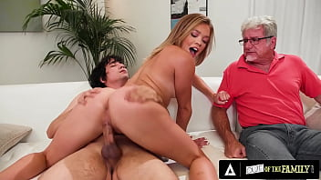 Katie Kush Teases Her Stepdad While Being Smashed Hard To Make Him Jealous 13 min