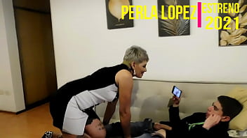 PREMIERE 2021-SEASON 2, CHAPTER 11- my mom finds me jerking off and fucks me for hours (part 1) WITH PERLA LOPEZ - CHAPTER 11
