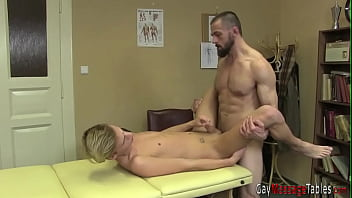 Twink gets ass raw fucked