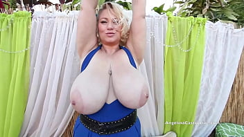 Ladies Angelina Castro Trinity Guess And Sam 38G Suck A Lucky Dick!