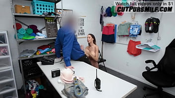Hot Milf Mckenzie Lee Fucked Hard In Guard Office Because She Was Stealing Stuff