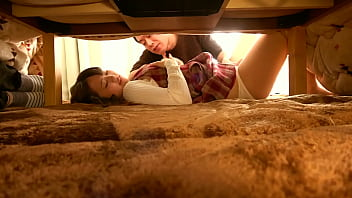 """Secretly Playing Tricks In The Kotatsu. """"My Boyfriend Is Going To Find Out!"""" Her Boyfriend's Friend Cuckolds Me For Some Seriously Raw SEX! https://bit.ly/3gSIwEf"""