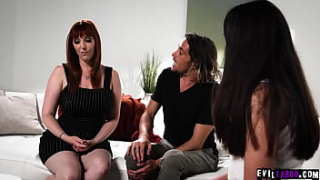 Tyler Nixon is horny and wants to fuck his new stepsis Jane Wild so he blackmail his stepmom to expose her dirty secret and start a 3some fuck.