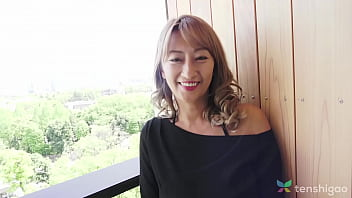 Huge tits on Japanese cheating wife - Interview with MILF who wants to fuck and comes to hotel to meet a man to cheat on husband in Japan 4K Pt 1 thumbnail