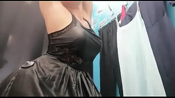 Sexy Big boobs, Hot ass girl Change clothes in Public dressing room