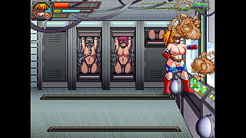 Umbreaker [Hentai sex game] Ep.1 Super hero naked fight while the bad guy are pounding girls