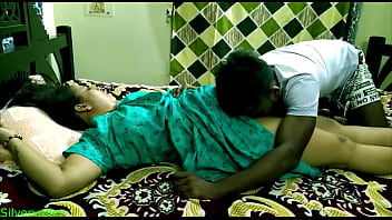 Indian sexy Milf stepmom having sex with her stepson!! Her husband dont kno