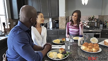 Asian Teen Shares Her Black Boyfriend With Mom- Avery Black, Christy Love