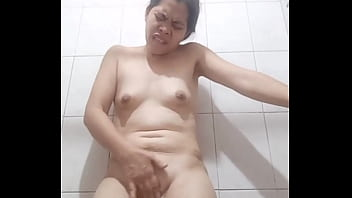 Asian Wifey,  Miss Bea Masturbating about Big Black Hard Angry Dick
