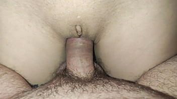 fucked a thin and narrow Russian pussy and cum on stomach - twitter @GAngelya