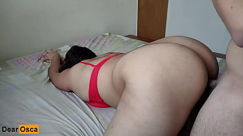 Big Booty MILF Gets HARD FUCKED In Doggystyle & Cum On Her Tits