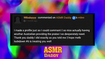 ASMR Daddy Reads Your Comments - Episdoe #1