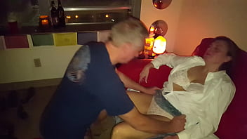 Husband videos as I make love to his Best Friend...... ABCd