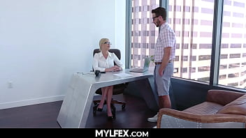 Teacher (Kit Mercer) Takes Sexual Education into her own Hands 7 min