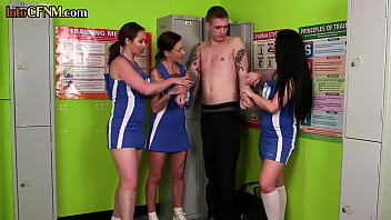 Streaming Video Uniformed cfnm dommes wanking worthless sub in group - XLXX.video