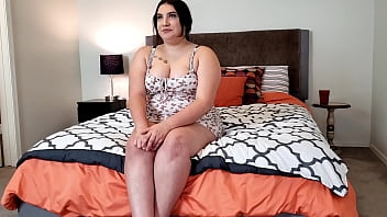 Casting Curvy Porn Audition for her 21st birthday