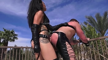 Handsome Daddy Colby Jansen Strap On Anal Fucked By Domina