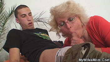 Mother in law young guy fuck her