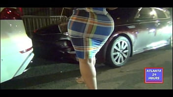 Bubble But in skirt going to Night Club