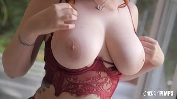 Redhead MILF Bounces Her Big Natural Tits While Riding A Hard Cock Reverse Cowgirl