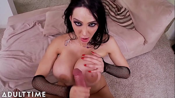 ADULT TIME - The BEST Cum On Big Tits COMPILATION! PLUS Titty Fucking AND Crazy Cumshots!