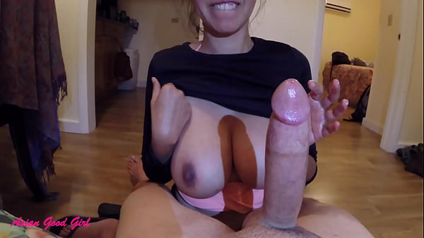 I Tease His Cock and Ruin His Orgasm with Post Cum Play